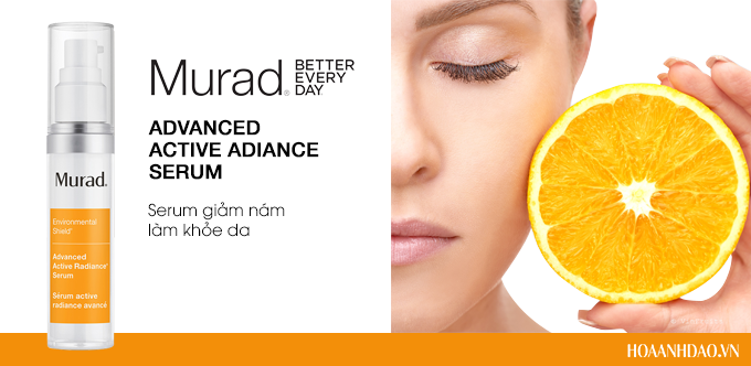 Serum giảm nám làm khỏe da Murad Advanced Active Radiance Serum 30ml